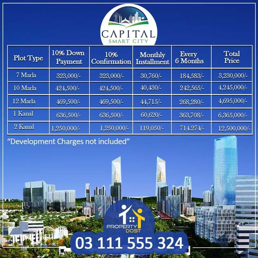 Capital Smart City Payment Plan